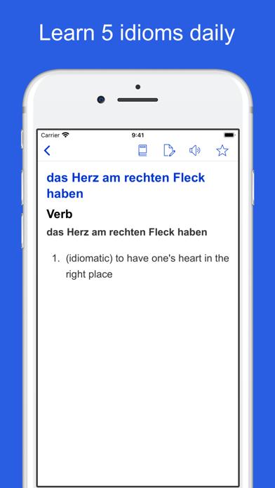 German Idioms, Proverbs screenshot 6