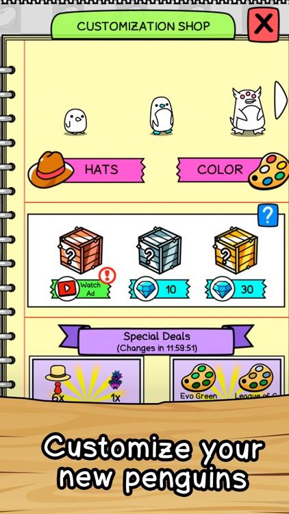 Penguin Merge Evolution screenshot-3