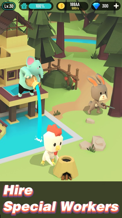 Animal Building:Idle Adventure screenshot-3