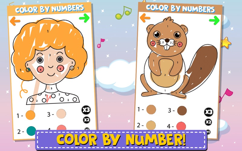 Color And Numbers screenshot 2