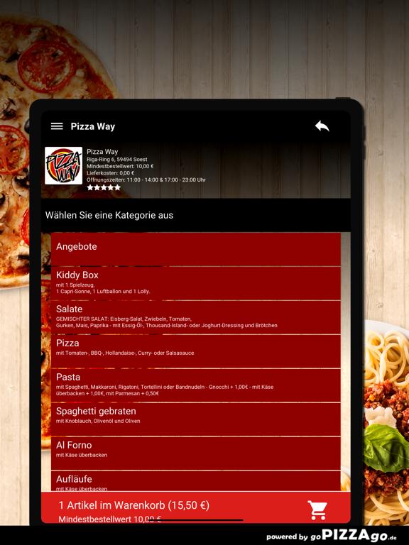 Pizza Way Soest screenshot 8