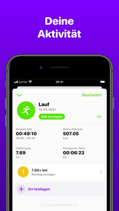 Workout SessionsScreenshot von 4