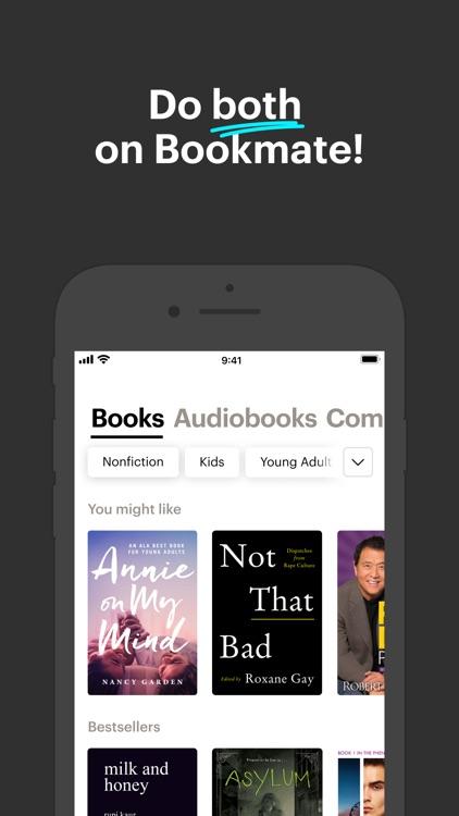 Bookmate. Listen & read books