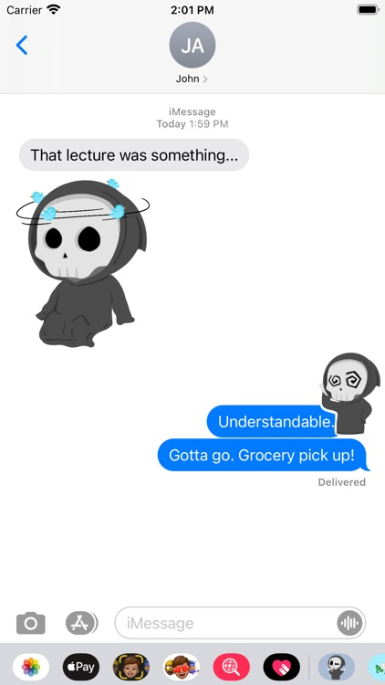 Grimmie the Reaper Stickers screenshot-4