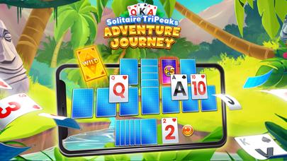 最新スマホゲームのソリティアTripeaks:冒険の旅が配信開始!