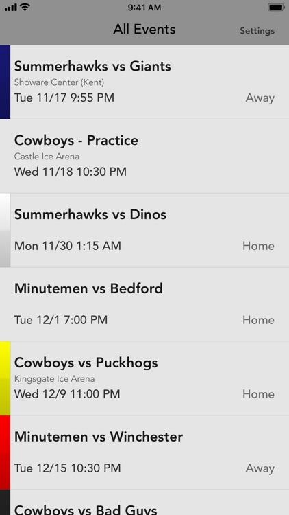 Gameday for Team Cowboy