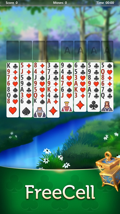 Magic Solitaire - Card Games screenshot-6
