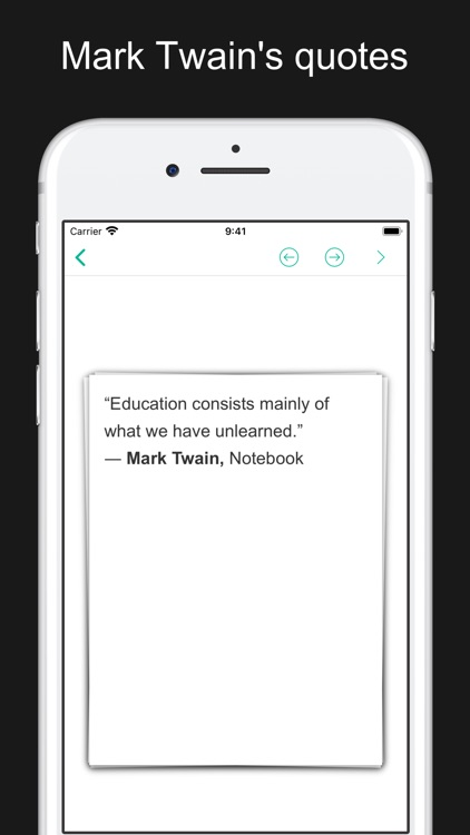 Mark Twain's works and quotes screenshot-9