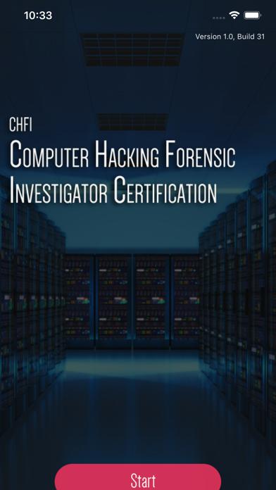 CHFI Computer Hacking Exam screenshot 1