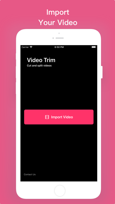 Video Trim -Cut And Clip Video screenshot 1