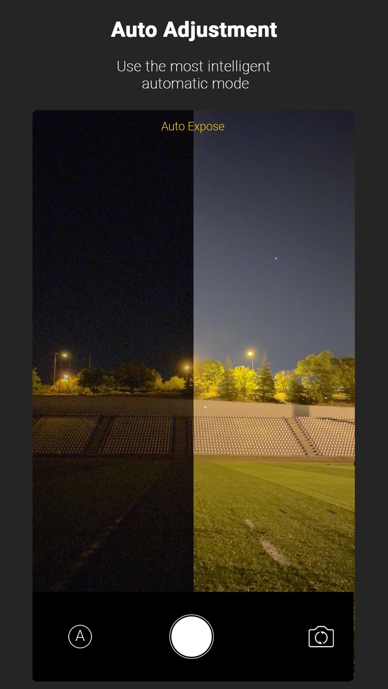 Screenshot do app Nightcam: Night Mode Camera