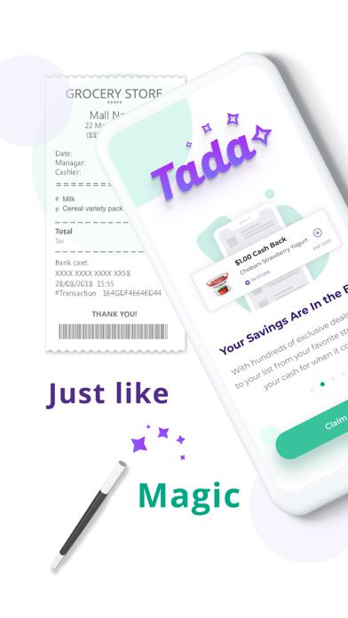 Tada: Cash Back Rewards screenshot