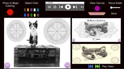 Mandalas - Cats screenshot 2