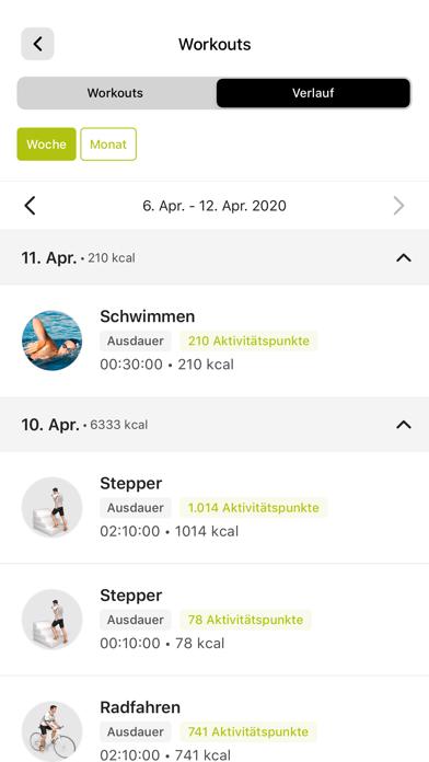 Grobe Fitness AppScreenshot von 8