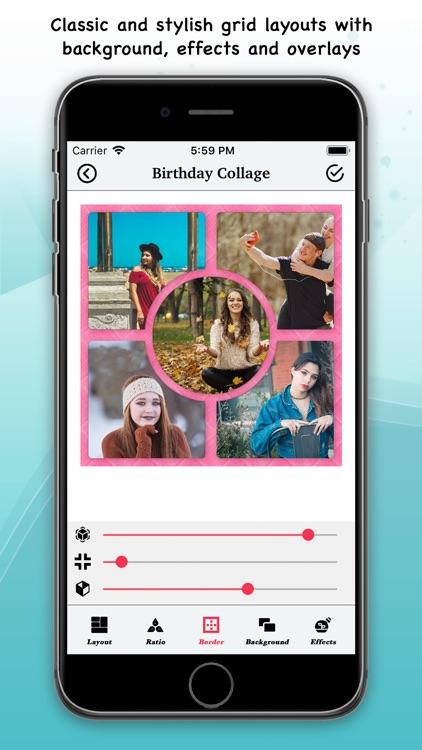 Birthday Music Video Maker screenshot-3