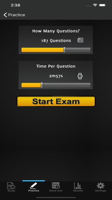 IMC Investment Management Exam screenshot 5