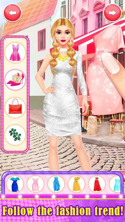 Dress Up Games Fashion Stylist screenshot-0
