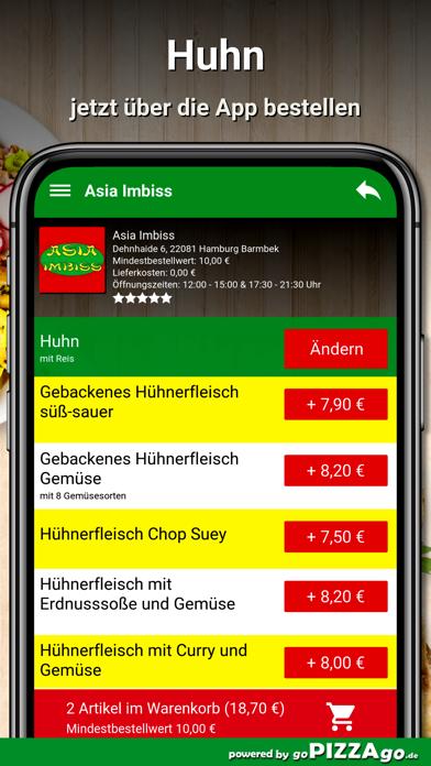 Asia Imbiss Hamburg Barmbek screenshot 5