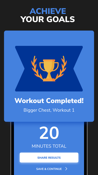 BetterMen: Home Workouts Screenshot
