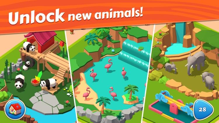 Zoo Tiles: Animal Park Planner screenshot-7