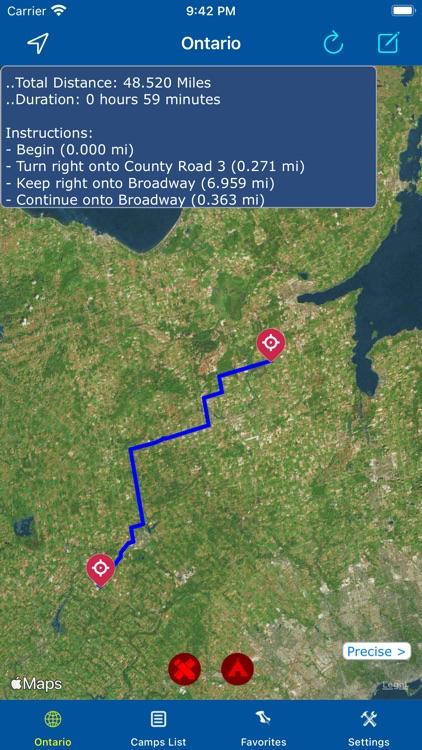 Ontario – Camping & RV spots screenshot-3