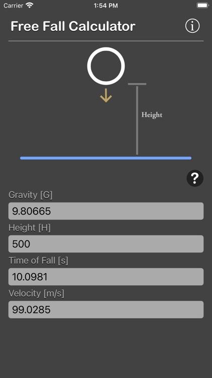 Free Fall Calculator screenshot-6