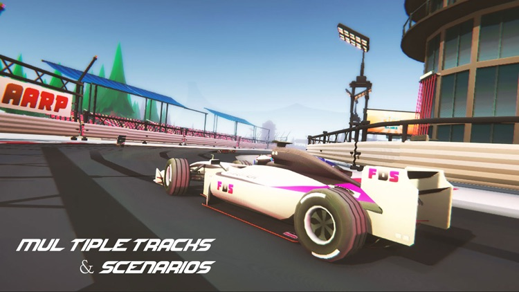 Mega Formula Cars - 3D Racing screenshot-4