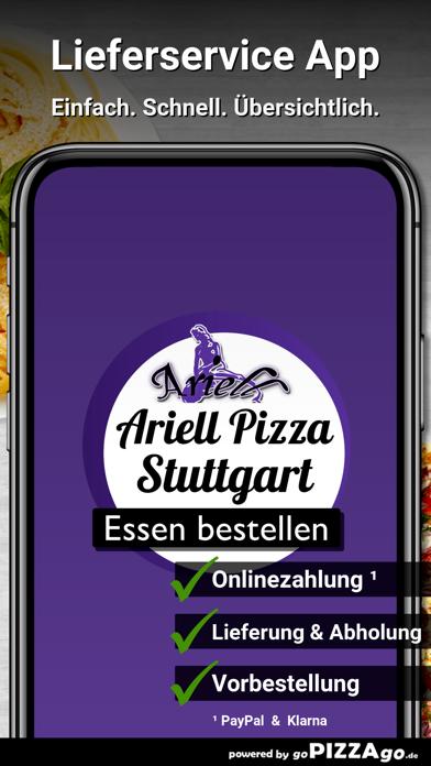 Ariell Pizza Service Stuttgart screenshot 1