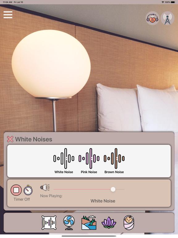 zzZ White Noise Sound Machine Screenshots
