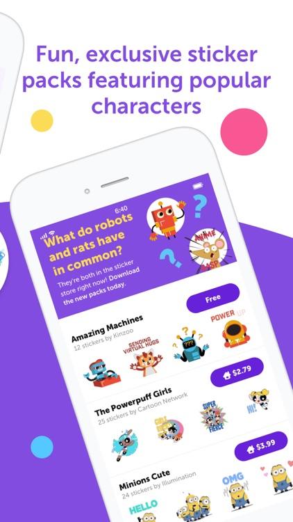 Kinzoo Messenger for Families screenshot-5