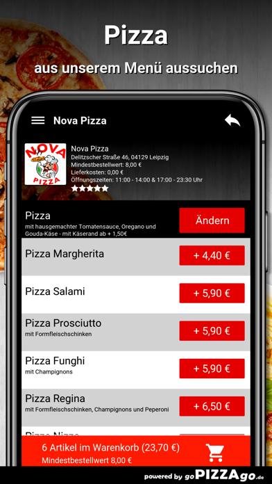 Nova Pizza Leipzig screenshot 5