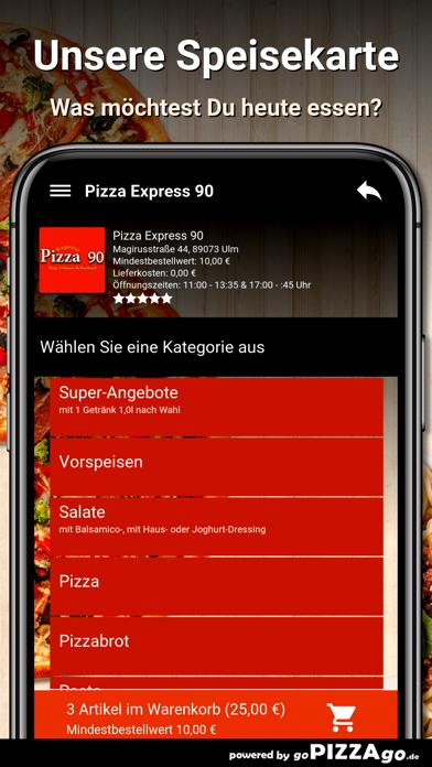 Pizza Express 90 Ulm screenshot 4