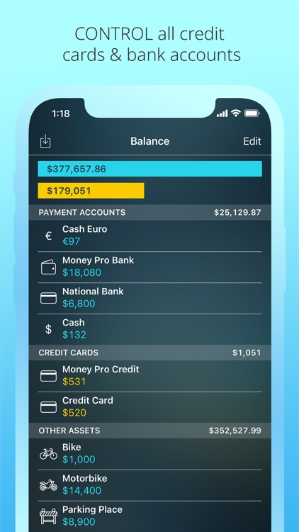 Money Pro: Personal Finance AR