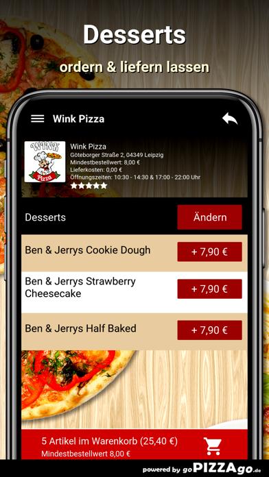 Wink Pizza Leipzig screenshot 6