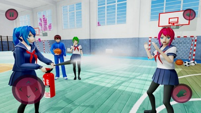 Anime High School Gangster 3D Screenshot on iOS