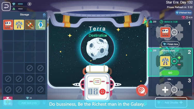 Galaxy Tycoon: Star Trade &War screenshot-3