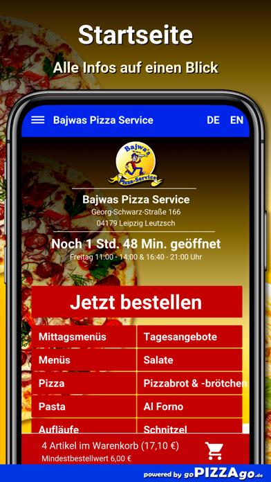 Bajwas Pizza Leipzig Leutzsch screenshot 2