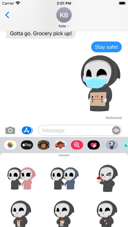 Grimmie the Reaper Stickers screenshot-5