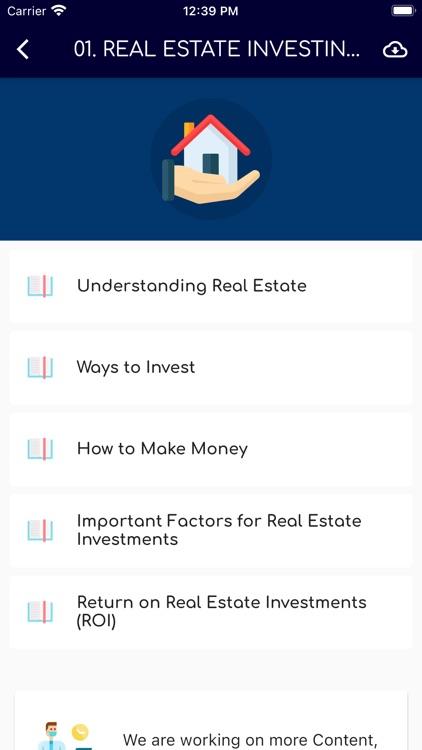 Learn Real Estate Investing screenshot-8
