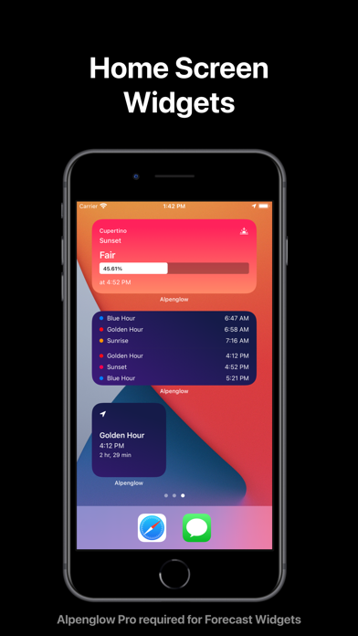 Descargar Alpenglow: Golden Hour Times para Android