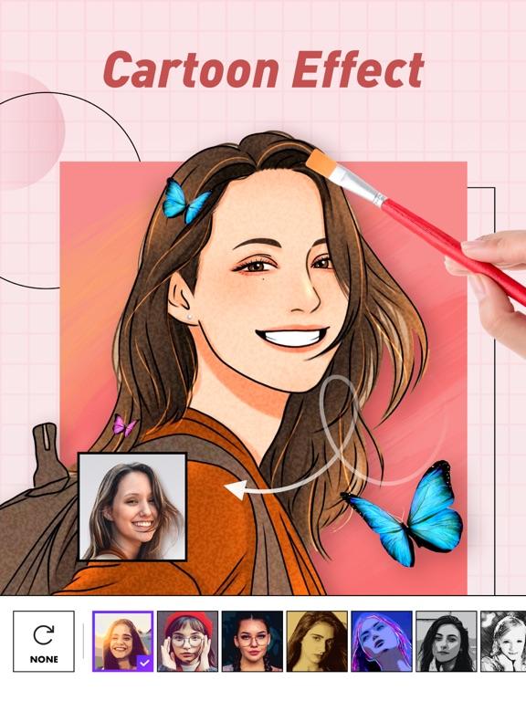 iPad Image of PicsCam-Cartoon Photo Editor