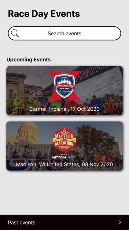 Race Day Events
