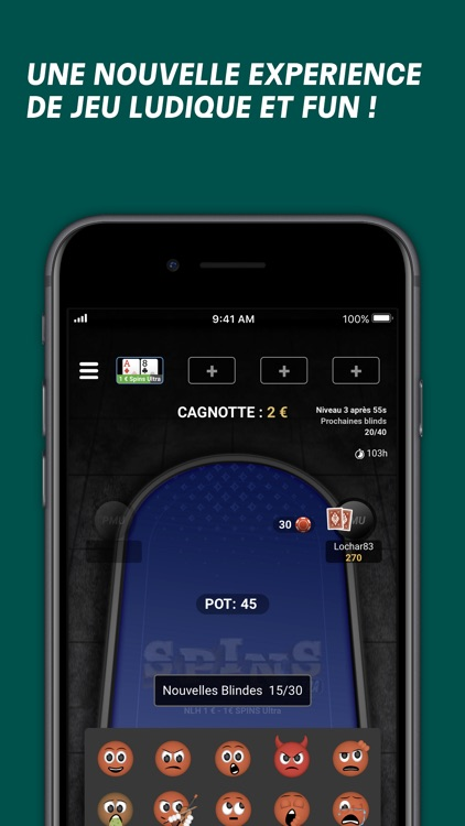 PMU Poker - Spins et Cash Game screenshot-5