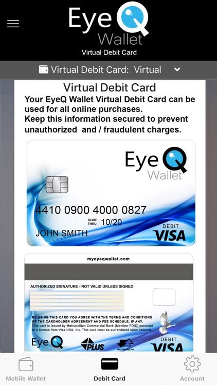 EyeQ Wallet screenshot-5