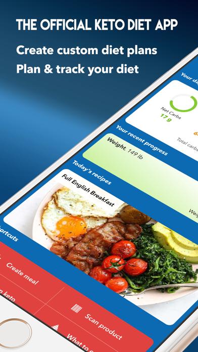 KetoDiet: The #1 Keto Diet Appのおすすめ画像1