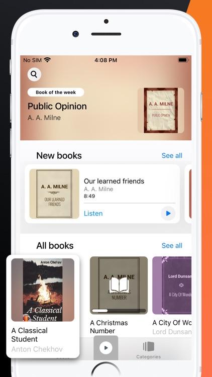 Audio Books & Ebooks Reader