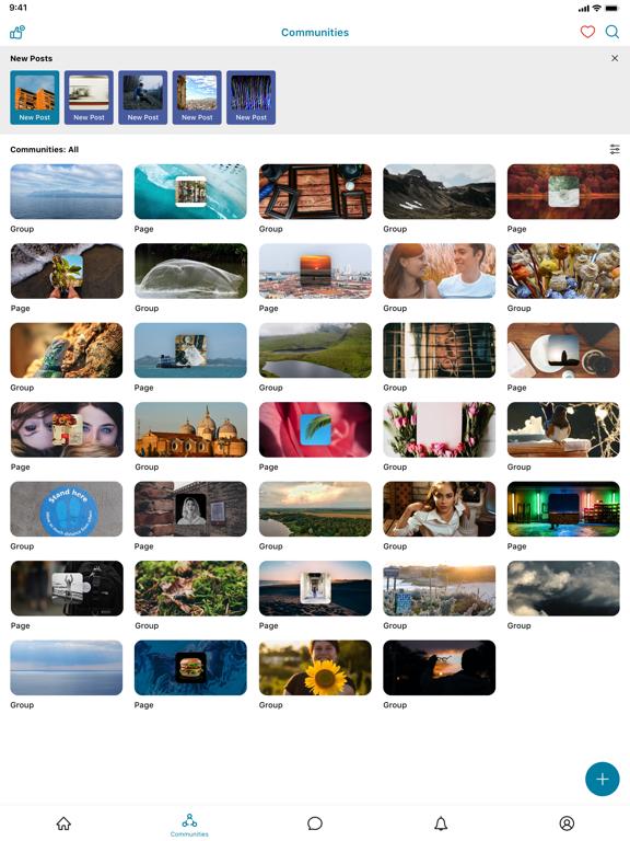 iPad Image of MeWe Network