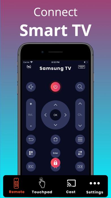 Universal TV Remote Screenshot