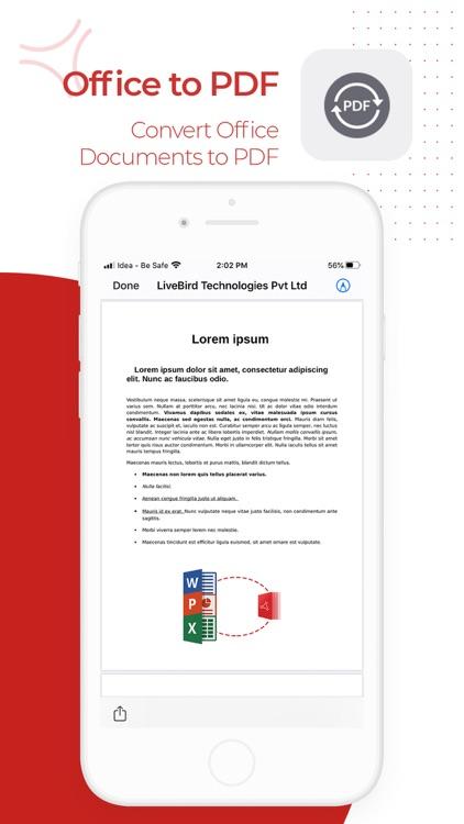 PDF Export - PDF Editor & Scan screenshot-4