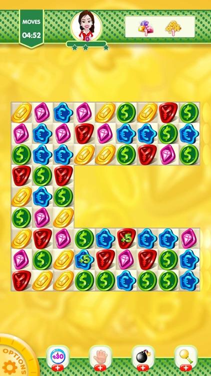 Match 3 Coin Jewel Blast screenshot-4
